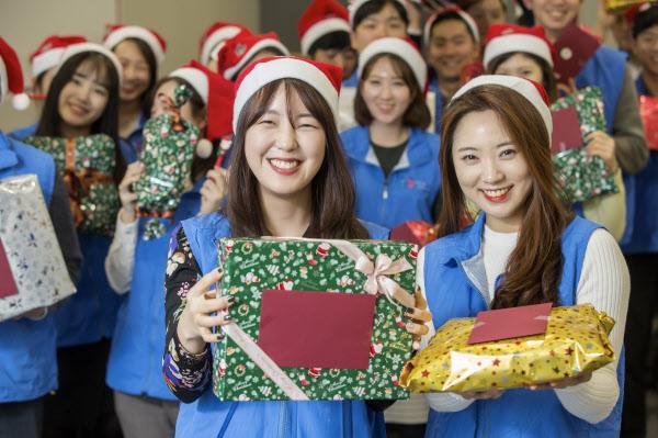 현대오일뱅크 1%나눔재단, 산타우체국 행사 개최