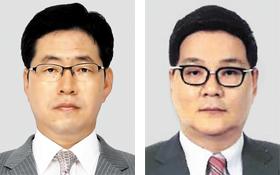 강정민 원안위원장, 김영준 콘텐츠원장.