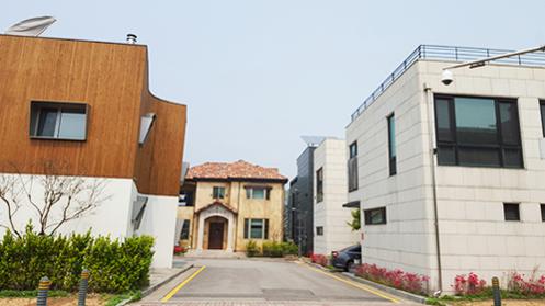 경기 판교신도시 단독주택. /김수현 기자