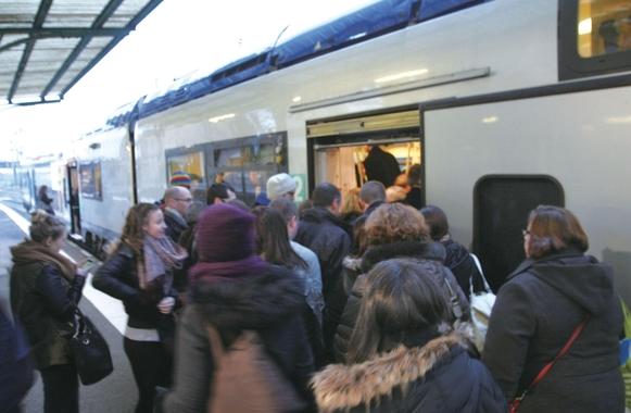 많은 프랑스인들이 철도를 이용해 룩셈부르크로 이동한다./SNCF 제공