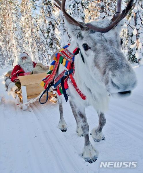 핀란드 '진짜 산타클로스' 화천 산천어축제장 온다
