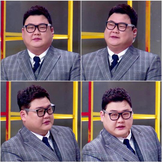 '아이엠셰프' 김준현, 킹스맨 패러디한 '뚱스맨' 변신