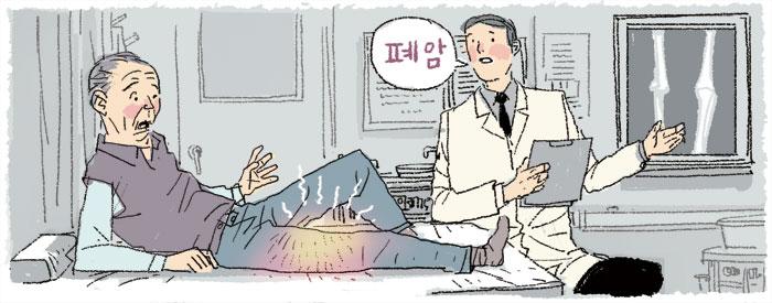 뼛속까지 정형외과 일러스트