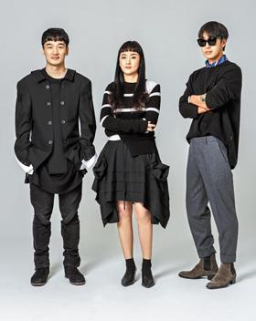 '컨셉코리아' 참가 디자이너들. 왼쪽부터 서병문·엄지나·고태용.