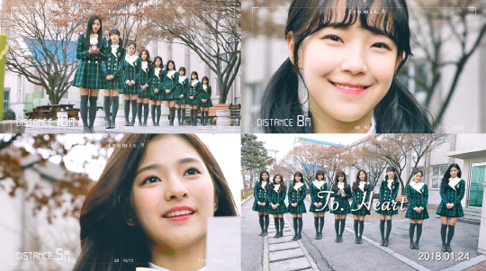 """""""싱그러운 아홉 소녀""""…프로미스나인. 데뷔 티저 영상 공개"""