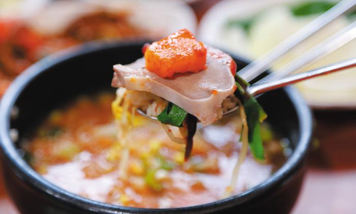 전남 순천 웃장국밥