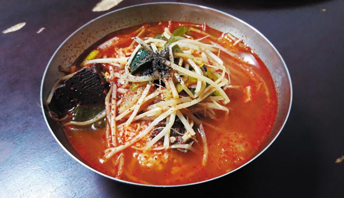 경남 함안 소고기국밥