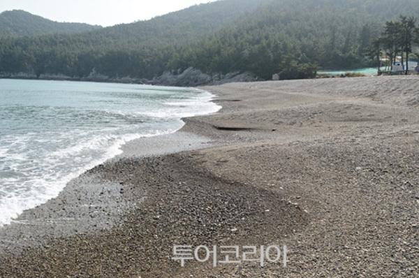용황리갯돌해변