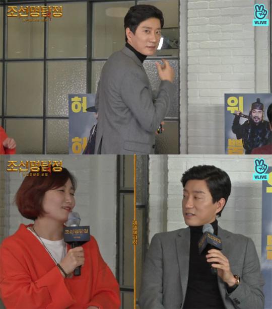 """'조선명탐정' 김명민 """"책임감 느낀다. 치유하는 즐거운 현장"""""""