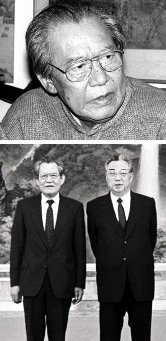 작곡가 윤이상의 생전 모습.