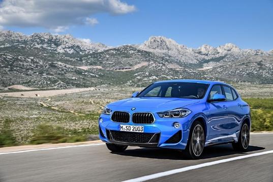 BMW가 올 상반기 중 국내 시장에서 출시하는 소형 SUV 모델 X2/BMW 제공