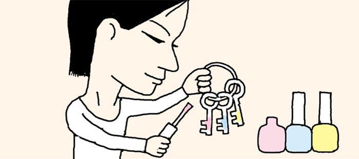 [리빙포인트] 똑같은 모양 열쇠 구별할 땐