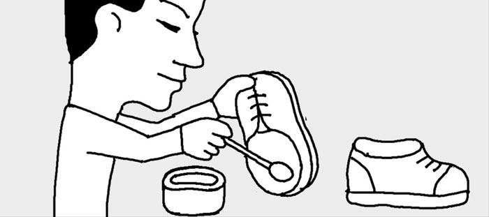 [리빙포인트] 새 신발 신을 때 바세린 바르세요
