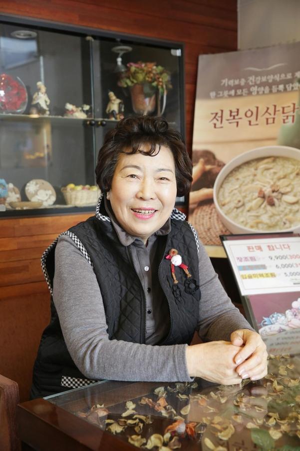 죽이야기 시흥시화점 손용순 사장은 보통 사람 같았으면 은퇴할 나이인 60에 창업했다./한국창업전략연구소