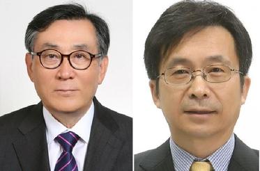 김상균 전 광주MBC 사장(왼쪽), 강형철 숙명여대 교수(오른쪽). / 방송통신위원회 제공