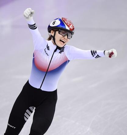 최민정 女 쇼트트랙 1500m 금메달 획득