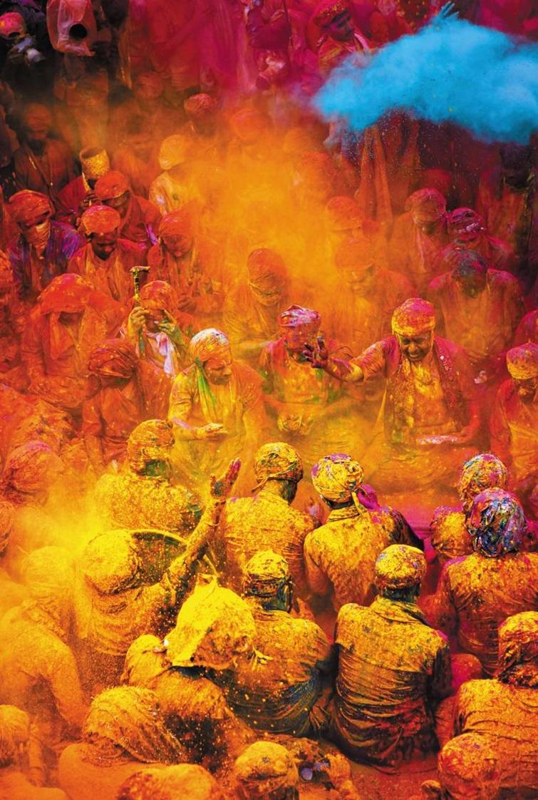 이제 곧 인도의 새해 '홀리'… 온 나라가 컬러 홀릭, 광란의 1박 2일이 다가온다