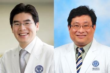 정재호(왼쪽) 교수, 박기청 교수. / 세브란스병원 제공