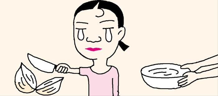 [리빙포인트] 양파 썰 때 눈물 안나려면