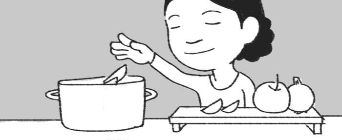 [리빙포인트] 사과·양파 넣고 수육삶기