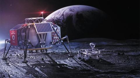 내년 달을 탐사할 착륙선과 탐사로봇.