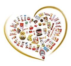 페레로 그룹이 생산하는 다양한 제품들. 170개 이상의 국가에서 소비자의 사랑을 받고 있다.