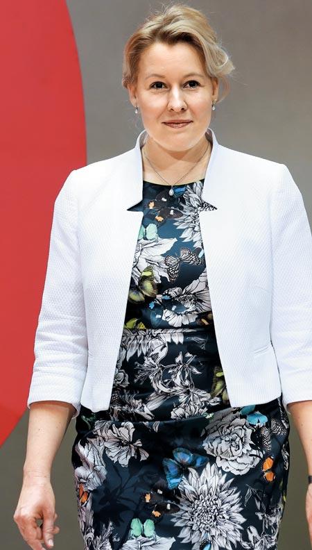 독일 여성부 장관으로 발탁된 프란치스카 기파이.