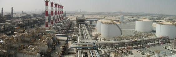 삼성엔지니어링이 지난 2015년 완공한 아랍에미리트(UAE) 애드녹 리파이닝 정유공장(RRE) 프로젝트. /삼성엔지니어링 제공