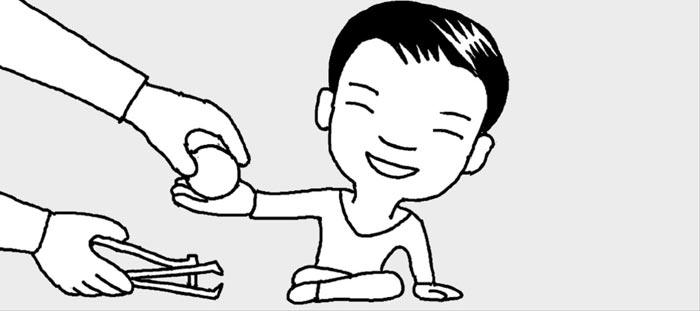 [리빙포인트] 아기 손톱 쉽게 깎으려면