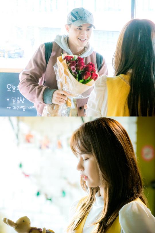 '부잣집 아들' 꽃을 든 男 김지훈과 꽃보다 아름다운 김주현