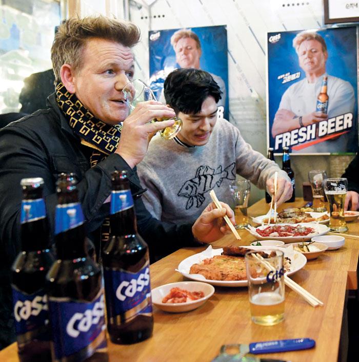 고든 램지도 인정한 맥주… 브랜드 선호도 1위