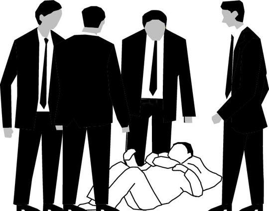 중국의 한국기자 폭행 사건