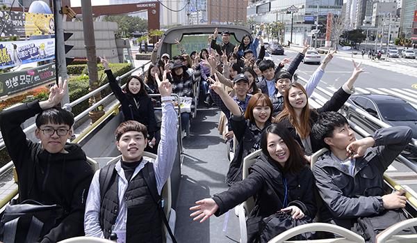 부산시와 부산관광공사는 지난 6일 아르피나에서 '부산관광 글로벌 서포터즈' 발대식을 개최했다.