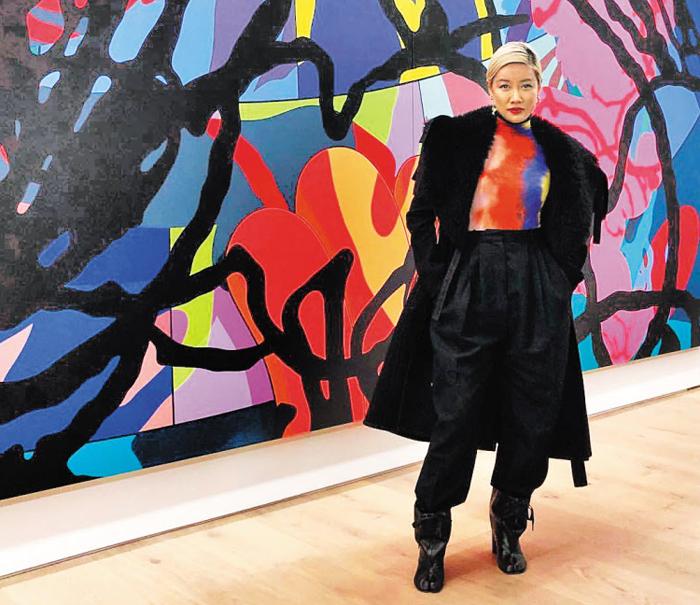 최근 프랑스 브랜드 '디올 옴므'의 주얼리 총괄 디자이너가 된 윤 안. 패션은 물론 그래픽 디자이너, DJ, 설치미술가 등 다양한 분야에서 활동하면서 이미 업계 스타로 이름을 알렸다.
