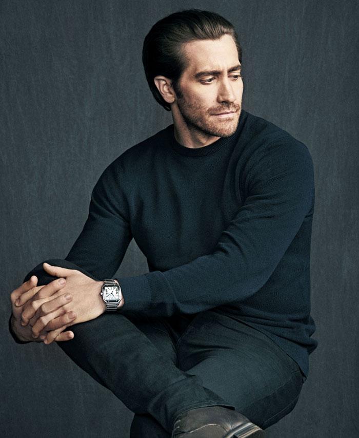 새로운 산토스 맨으로 선정된 영화배우 제이크 질렌할 Matthew Brookes @Cartier