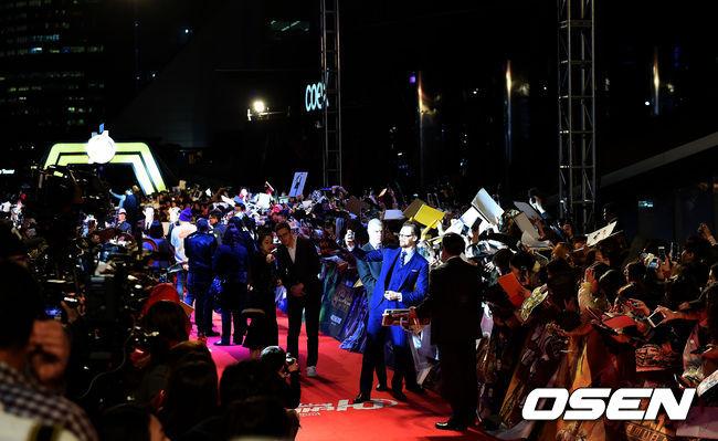 [사진]코엑스 야외광장서 열리는 어벤져스 레드카펫