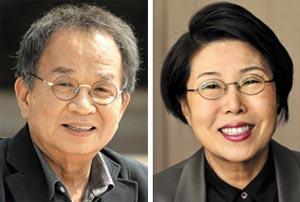 김창일(왼쪽), 김숙희