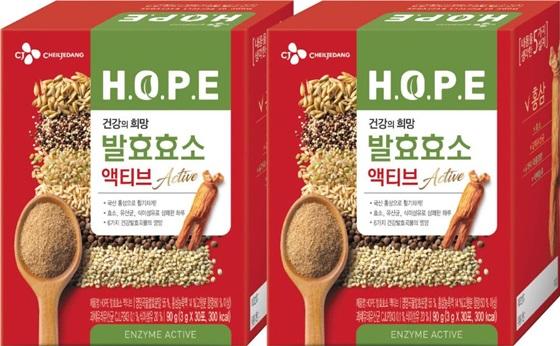 CJ제일제당 HOPE 발효효소 액티브