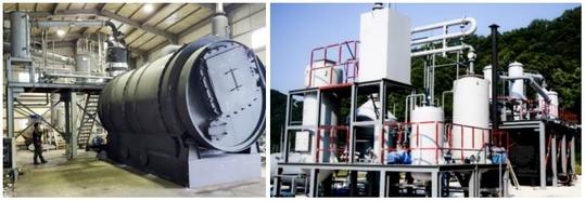 에코크레이션의 폐플라스틱 촉매 열분해 장치. /에코크레이션 제공