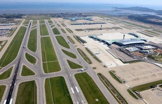 인천국제공항 전경. 오른쪽 뒤편이 1터미널이다. /인천공항공사 제공