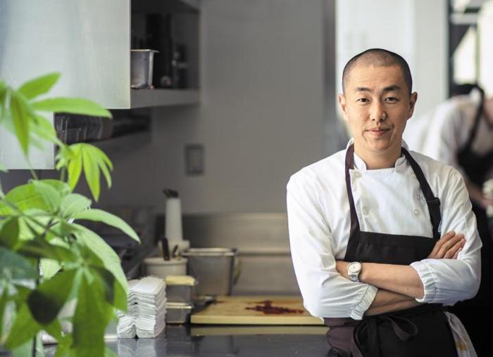 한국계 미국인인'인 시투' 오너 셰프 코리 리.