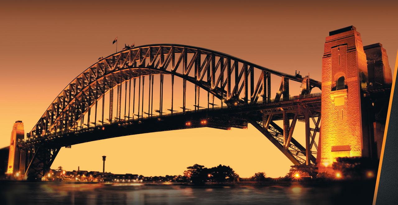 '멀티포트 다토미터' 컬렉션에 디자인 모티브를 제공한 호주 시드니 하버 브리지.