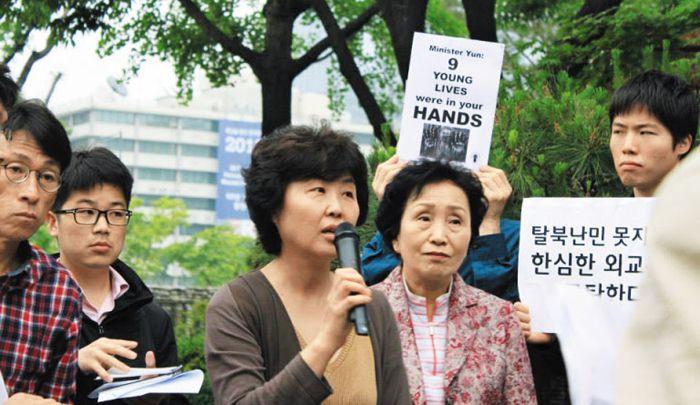 김영자 북한인권시민연합 사무국장
