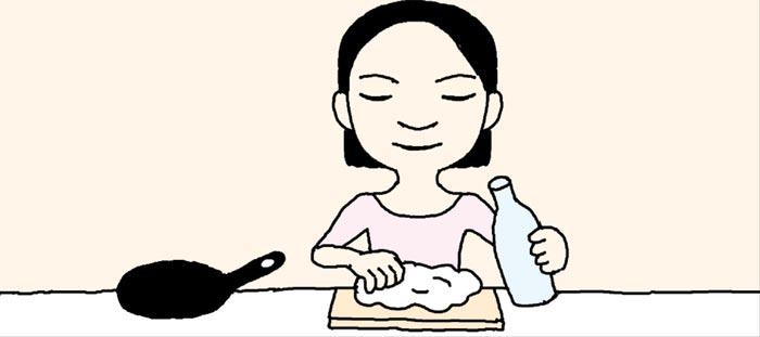 [리빙포인트] 전 반죽에 탄산수 넣으면 바삭