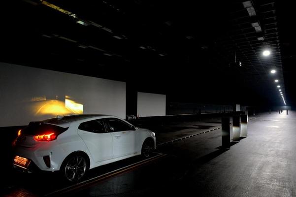 현대모비스 서산주행시험장에 위치한 터널 시험로/현대모비스 제공