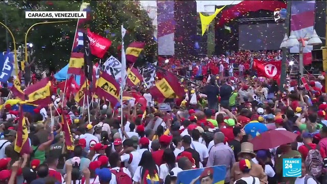 [France 24] Venezuela Election Maduro expected to win