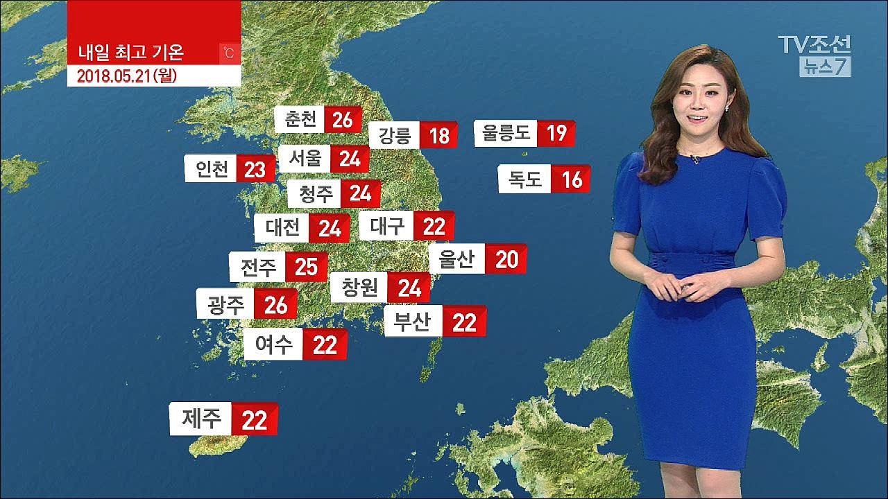 [날씨] 내일 맑고 공기 깨끗... 큰 일교차·자외선 주의
