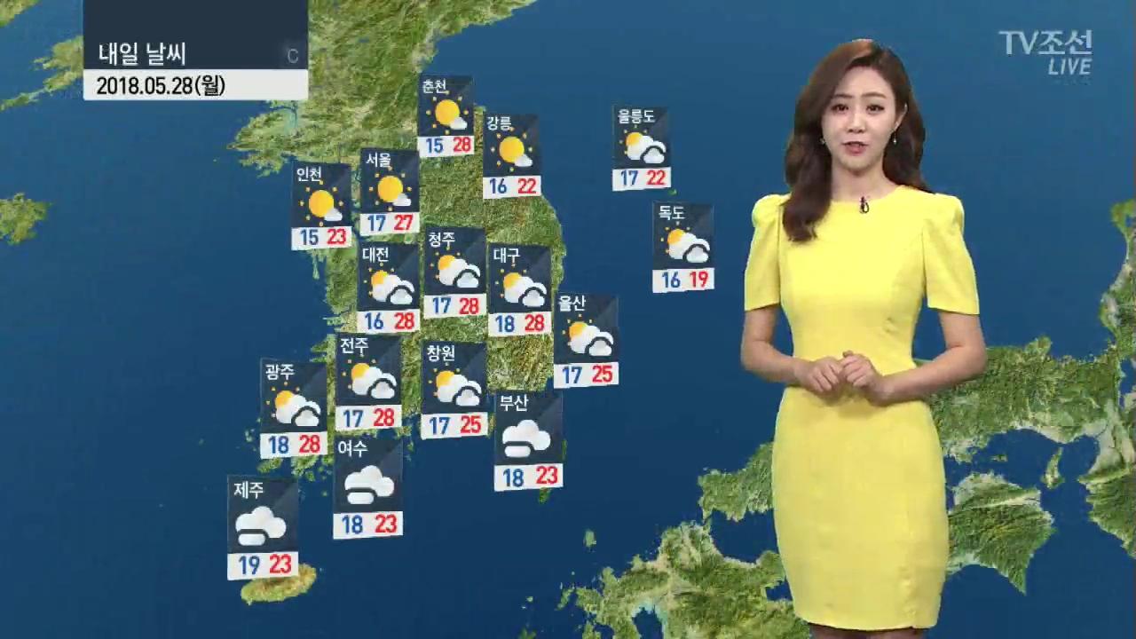 [날씨] 동쪽·전북 미세먼지↑…한낮 자외선·오존 주의