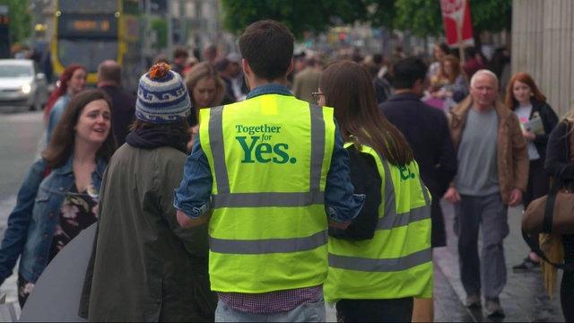 [Al jazeera] Scenes of joy as Ireland votes to repeal abortion law