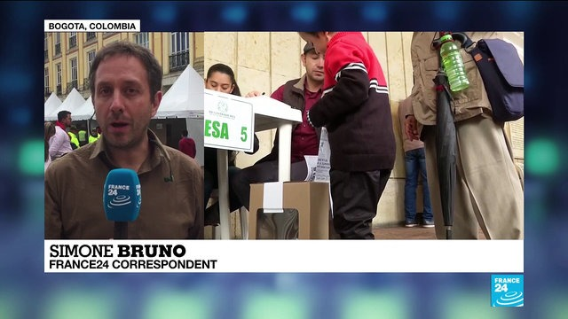 [France 24] Colombia still very polarized, Simone Bruno reports from Bogota